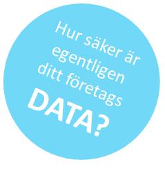 Hur säker är egentligen ditt företags data?